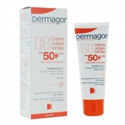 DERMAGOR  Solaires BB Crème solaire teintee FPS50+