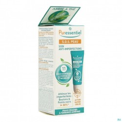 Puressentiel SOS peau soin anti-imperfections aux 11HE -10ML