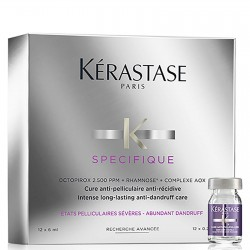 KERASTASE SPECIFIQUE CURE ANTI PELLICULAIRE INTENSE 12*6ML