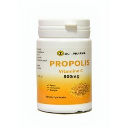 PROPOLIS VITAMINE C BC pharma 500mg