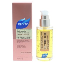 PHYTOELIXIR Huile de Brillance Nutrition Intense - Cheveux secs et ultra secs 75ml