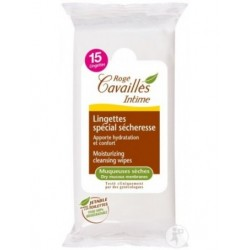 ROGE CAVAILLES LINGETTES INTIMES SPECIAL SECHERESSE 15U