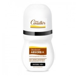 roge cavailles Déo Absorb+ Invisible 48h Roll-on 50ml