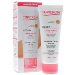 TOPICREM HYDRA+ CREME TEINTEE ECLAT MEDIUM SPF40 40ML