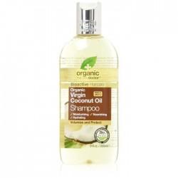 Dr Organic Shampooing à l'huile de Coco vierge 265ML