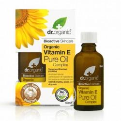Dr Organic Complexe d'huiles pures à la vitamine E 50ML