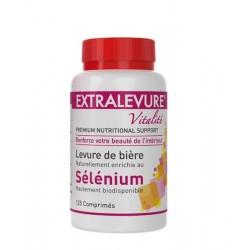 Extralevure vitalité sélénium 125 comprimés