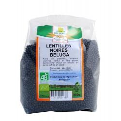 ALVENA Lentilles noires beluga 500g