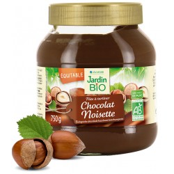 Jardin Bio Pâte à Tartiner Chocolat et Noisette 750g