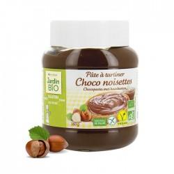 JARDIN BIO Pâte à tartiner chocolat noisettes sans gluten – 350g