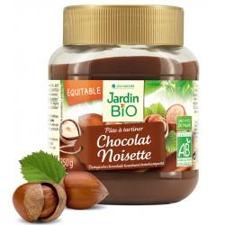 Jardin Bio Pâte à Tartiner Chocolat et Noisette 350g