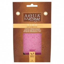 Aqua massage Eponges Démaquillage 100% Naturelles