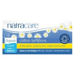 NATRACARE ORGANIC COTTON PANTY LINERS — LONG (16PC)
