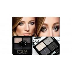 EVELINE Quattro Eyeshadow 03