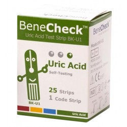 Benecheck – Bandelettes Acide Urique (x25)