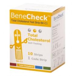 Benecheck – Bandelettes Cholesterol (x10)