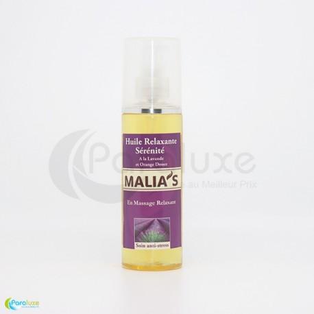 Malia's huile relaxante à la lavande 100 ml