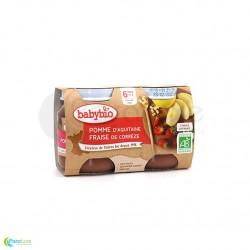 BABYBIO Petits pots pomme fraise