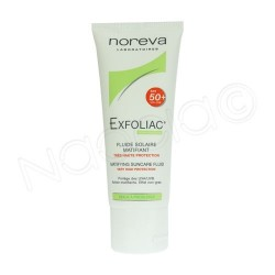 EXFOLIAC Fluide solaire matifiant