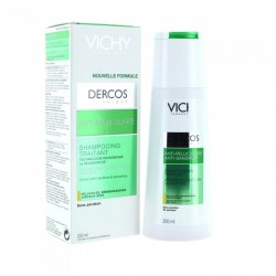VICHY DERCOS Antipelliculaire Shampooing Traitant Cheveux Secs