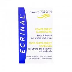 ECRINAL Capsules cheveux et ongles