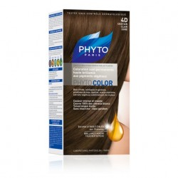 PHYTO COLOR coloration permanente 4D CHATAIN CLAIR DORE