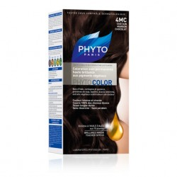 PHYTO COLOR coloration permanente 4MC CHATAIN MARRON CHOCOLATE