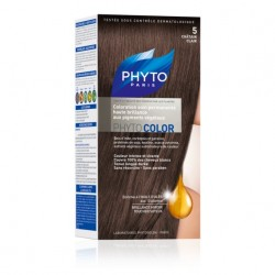 PHYTO COLOR coloration permanente 5 CHATAIN CLAIR