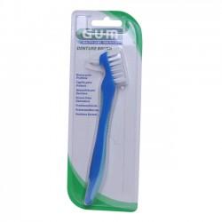 GUM Brosse à dents pour prothèse