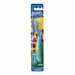 ORAL-B Brosse à dents stages pour enfants de 2 à 4 ans