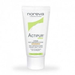 NOREVA ACTIPUR Crème anti-imperfections teintée claire