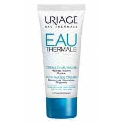 URIAGE EAU THERMALE CREME D'EAU RICHE 40ML