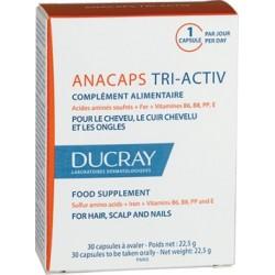 DUCRAY ANACAPS TRI-ACTIV 30 CAPS