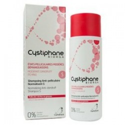BIORGA CYSTIPHANE SHAMPOOING ANTI PELLICULAIRE NORMALISANT S 200ML