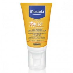 MUSTELA LAIT SOLAIRE SPF50+ 40ml