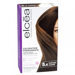ELCEA COLORATION EXPERTE Chatain cuivré n 5,4