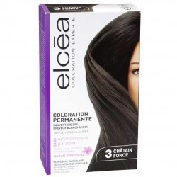 ELCEA COLORATION EXPERTE chatain foncé n 3