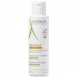 A-DERMA EXOMEGA CONT GEL MOUSSANT 500ML