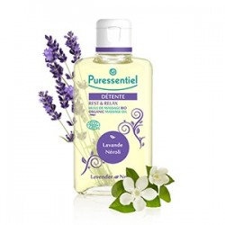 Puressentiel Huile de massage bio détente lavande /Néroli - 100 ml