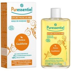 Puressentiel Huile de massage bio effort musculaire arnica / Gaulhérie 200ml