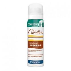 ROGE CAVAILLES Déodorant absorb+ spray compressé efficacité 48h 75ml
