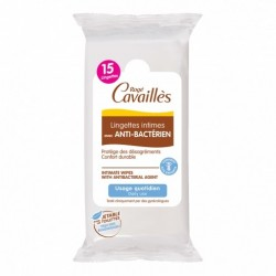ROGE CAVAILLES Lingettes avec anti-bactérien x15