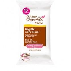 ROGE CAVAILLES lingettes extra-douces x15