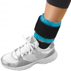 THERAPEARL hot/cold ankle/wrist wrap with strap/
