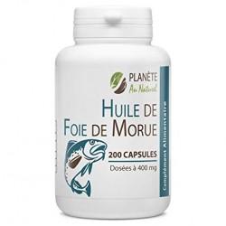 Huile de Foie de Morue - 400 mg - 100 capsules