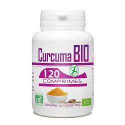 CURCUMA BIO -120 COMPRIMES Dosée De 400