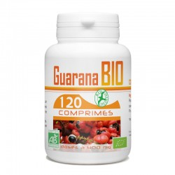 Guarana Bio -400 mg - 120 comprimés