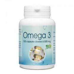 Oméga 3 - 505 mg - 100 capsules