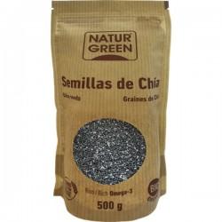 Graines de Chia BIO 500 g - NaturGreen