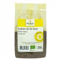 PRIMÉAL Graine de lin brun France 250g